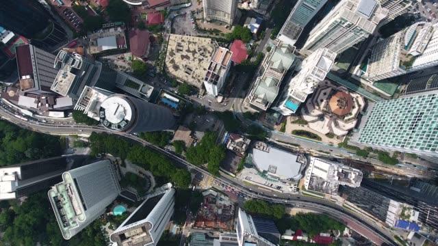 上記からクアラルンプールの高層ビルを表示します。 - マレーシア点の映像素材/bロール