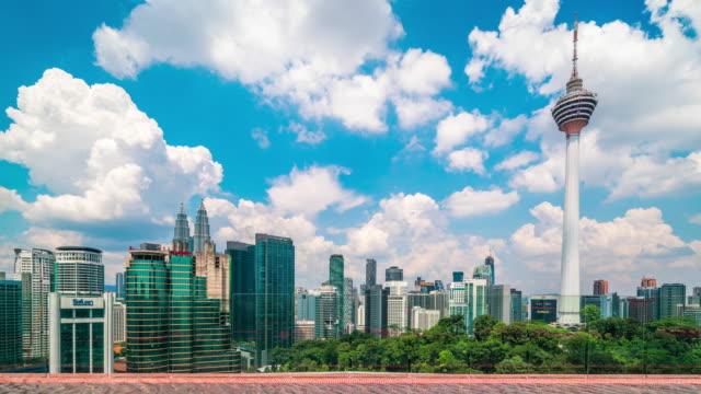 クアラルンプールタイムラプス - マレーシア点の映像素材/bロール