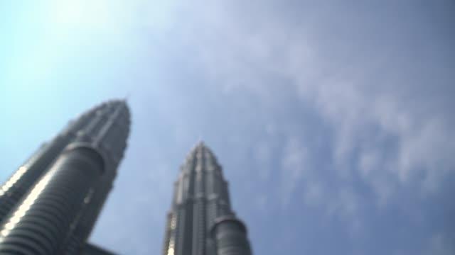 kuala lumpur - kuala lumpur tower bildbanksvideor och videomaterial från bakom kulisserna