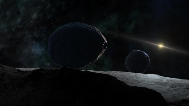 kuiper belt object surface - solar system stock videos & royalty-free footage