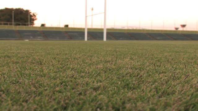vidéos et rushes de kumagaya rugby stadium, saitama, japan - herbe