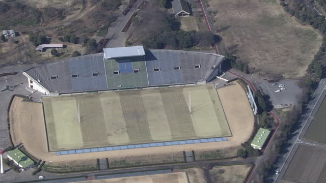 AERIAL, Kumagaya Rugby Stadium, Saitama, Japan