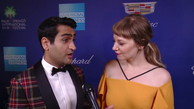INTERVIEW Kumail Nanjiani and Emily V Gordon on the people and films being honored at the 29th Annual Palm Springs International Film Festival Awards...