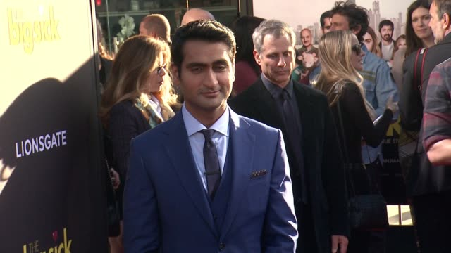 """kumail nanjiani at amazon studios and lionsgate present the los angeles premiere of """"the big sick"""" at arclight cinemas on june 12, 2017 in hollywood,... - arclight cinemas hollywood stock videos & royalty-free footage"""