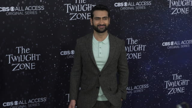 "kumail nanjiani at the premiere of ""the twilight zone' at the harmony gold preview house and theater on march 26, 2019 in hollywood, california. - harmony gold preview theatre stock videos & royalty-free footage"