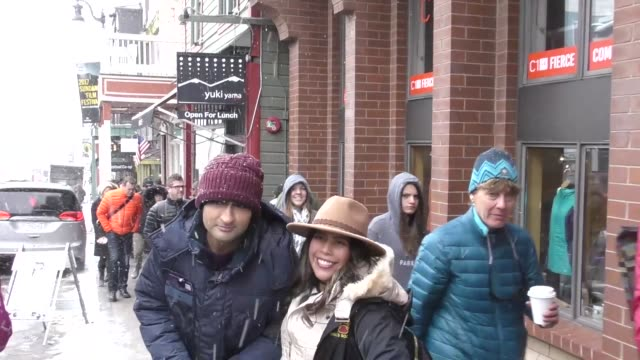 kumail nanjiani on main street at the sundance film festival in park city at celebrity sightings in park city ut on january 20 2017 - park city utah video stock e b–roll