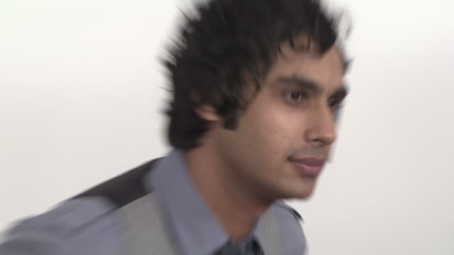 kunal nayyar at the grammy nominations concert live at los angeles ca. - 2008 stock videos & royalty-free footage