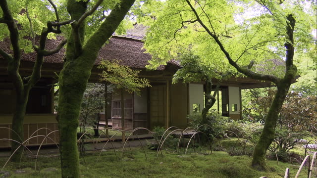 """Kunenan"" is a name of villa and the garden with the width of 6800 square meters It was built by Yataro Itami a famous entrepreneur in Saga..."