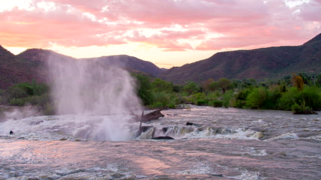 WS Kunene River At Sunset