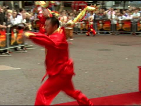 kung fu panda premiere london uk 6/26/08 - event capsule stock videos & royalty-free footage