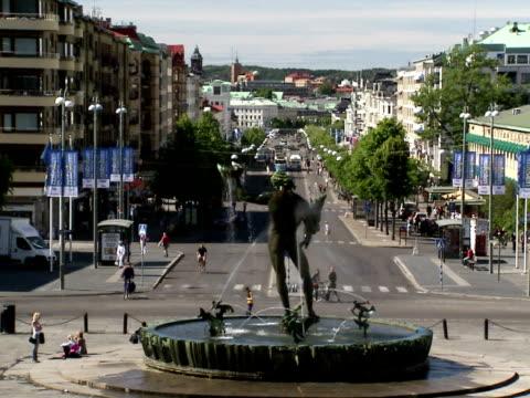 Kungsportsavenyn Gothenburg Sweden.