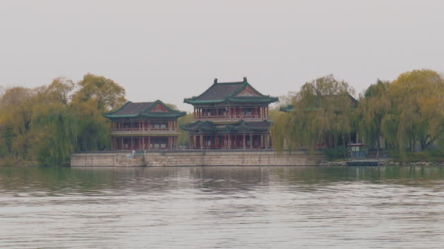 Kunming Lake at Summer Palace, Beijing, China