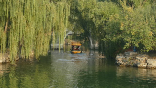 Kunming Lake Cruise in the Summer palace, Beijing, China