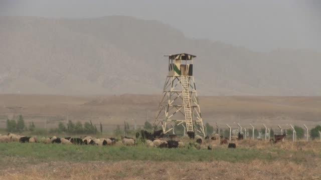 A Kurdish Peshmerga military compound near the town of Dohuk Northern Iraq