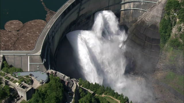 AERIAL, Kurobe Dam, Toyama, Japan