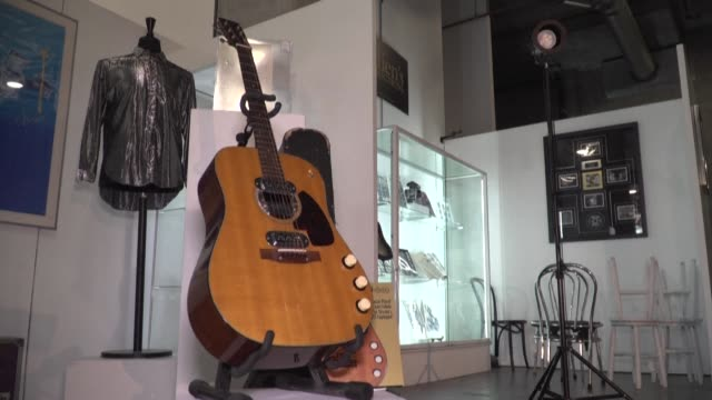 CA: FILE: Kurt Cobain 'Unplugged' guitar sold for over 6$m at auction