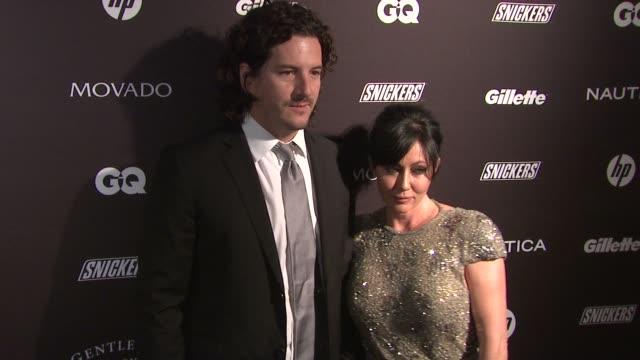 Kurt Iswarienko and Shannen Doherty at the GQ's The Gentlemen's Ball at New York NY