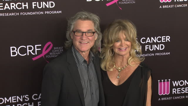 """kurt russell and goldie hawn at wcrf's """"an unforgettable evening"""" at the beverly wilshire four seasons hotel on february 28, 2019 in beverly hills,... - kurt russell stock videos & royalty-free footage"""