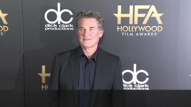 kurt russell at 2015 hollywood film awards in los angeles, ca 11/1/15 - kurt russell stock videos & royalty-free footage
