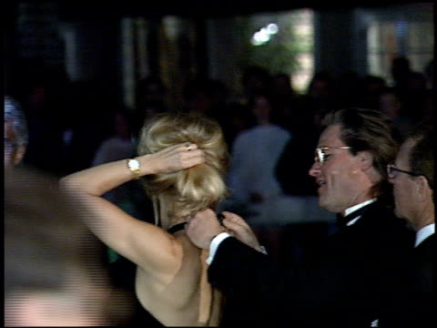 kurt russell at the 1995 academy awards morton party at morton's in west hollywood, california on march 27, 1995. - 67th annual academy awards stock videos & royalty-free footage