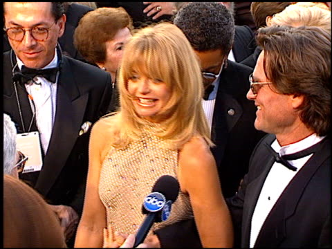 kurt russell at the 1997 academy awards arrivals at the shrine auditorium in los angeles, california on march 24, 1997. - 69th annual academy awards stock videos & royalty-free footage