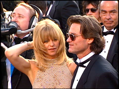 kurt russell at the 1997 academy awards arrivals at the shrine auditorium in los angeles california on march 24 1997 - 69th annual academy awards stock videos & royalty-free footage