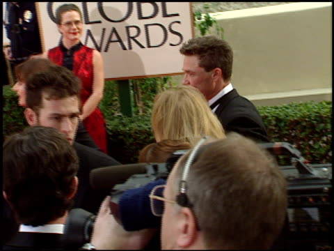 Kurt Russell at the 1998 Golden Globe Awards at the Beverly Hilton in Beverly Hills California on January 18 1998