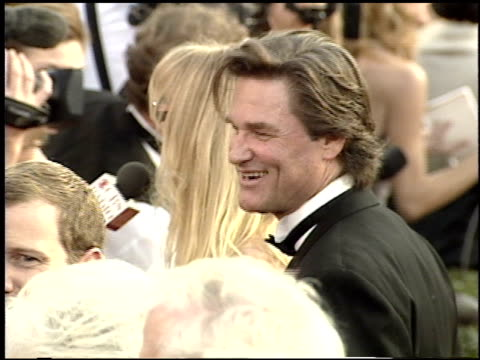 kurt russell at the 2001 academy awards at the shrine auditorium in los angeles california on march 25 2001 - 73rd annual academy awards stock videos & royalty-free footage