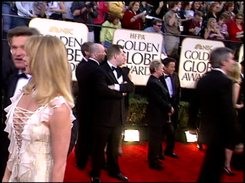 kurt russell at the 2003 golden globe awards at the beverly hilton in beverly hills, california on january 19, 2003. - kurt russell stock videos & royalty-free footage
