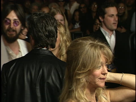 kurt russell at the banger sisters, the, premiere at the grove los angeles in los angeles, ca. - kurt russell stock videos & royalty-free footage