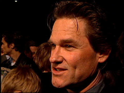 kurt russell at the premiere of 'the outoftowners' at paramount studios in hollywood california on march 29 1999 - paramount studios stock videos and b-roll footage