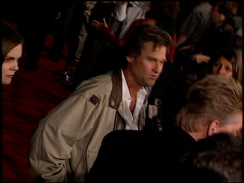 Kurt Russell at the 'Soldier' Premiere at Grauman's Chinese Theatre in Hollywood California on October 21 1998