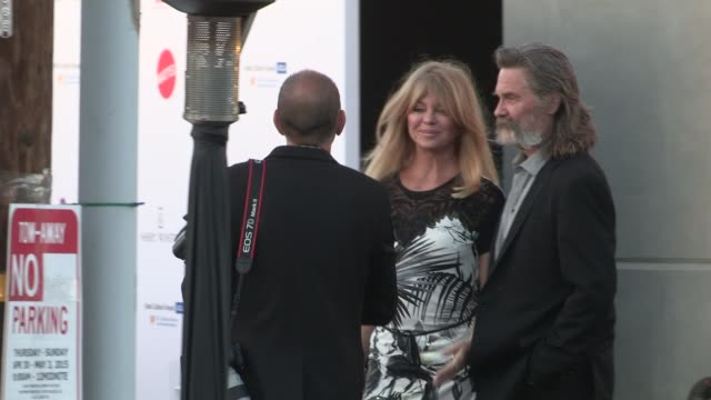 Kurt Russell Goldie Hawn arrive at Mattel Children's Hospital UCLA Kaleidoscope Ball in Culver City in Celebrity Sightings in Los Angeles