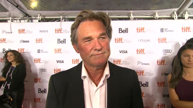 INTERVIEW Kurt Russell on being at TIFF at The Art Of The Steal Premiere 2013 Toronto International Film Festival on 9/11/2013 in Toronto Canada