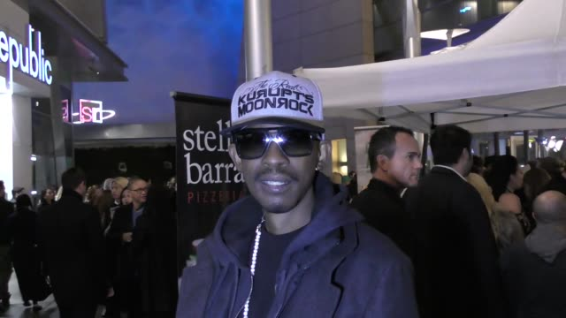 INTERVIEW Kurupt talks about his new projects outside ArcLight Theatre in Hollywood in Celebrity Sightings in Los Angeles