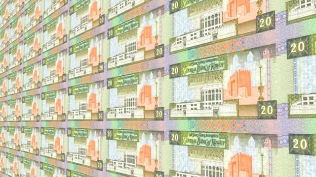 kuwaiti dinar note - dinar stock videos & royalty-free footage