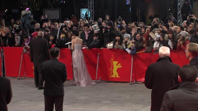 stockvideo's en b-roll-footage met kwai lun mei at flying swords of dragon gate premiere: 62nd international berlin film festival 2012 at berlinale palace on february 17, 2012 in... - mei