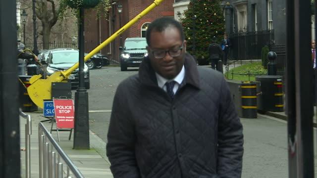 Kwasi Kwarteng Brexit Minister walking out of Downing Street