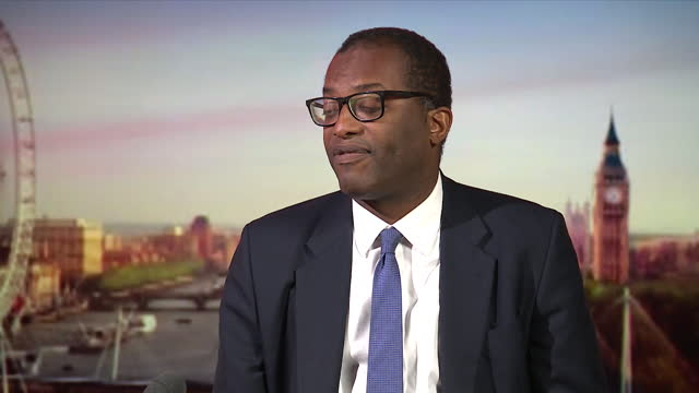 kwasi kwarteng talking about the extension of steel safeguards - metal stock videos & royalty-free footage