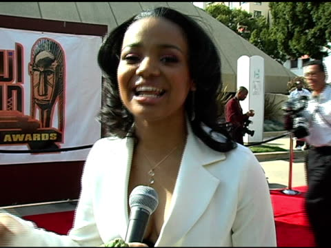 Kyla Pratt on what shes presenting awards shows the red carpet at the 20th Annual Soul Train Music Awards at Pasadena Civic Auditorium in Pasadena...