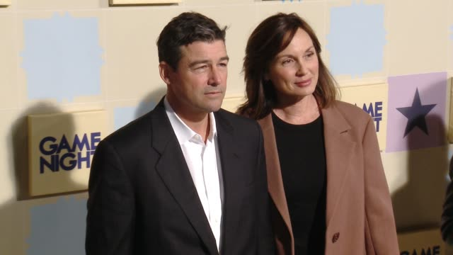 Kyle Chandler and Kathryn Chandler at the 'Game Night' World Premiere at TCL Chinese Theatre on February 21 2018 in Hollywood California