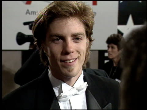 kyle eastwood at the afi honors honoring clint eastwood press room at the beverly hilton in beverly hills, california on march 1, 1996. - american film institute stock videos & royalty-free footage