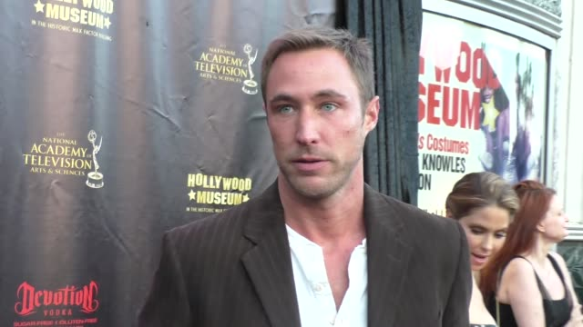 Kyle Lowder at the 2016 Daytime Emmy Awards Nominees Reception at The Hollywood Museum in Hollywood Celebrity Sightings on April 27 2016 in Los...