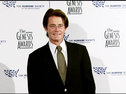 Kyle MacLachlan at the 2008 Genesis Awards at the Beverly Hilton in Beverly Hills California on March 30 2008