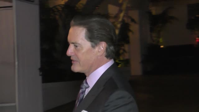 Kyle MacLachlan at the 2017 GQ Men Of The Year Dinner Party at Chateau Marmont in West Hollywood in Celebrity Sightings in Los Angeles