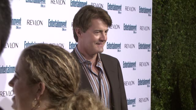 kyle maclachlan at the entertainment weekly 6th annual pre-emmy party at los angeles ca. - エミー賞前夜祭パーティー点の映像素材/bロール