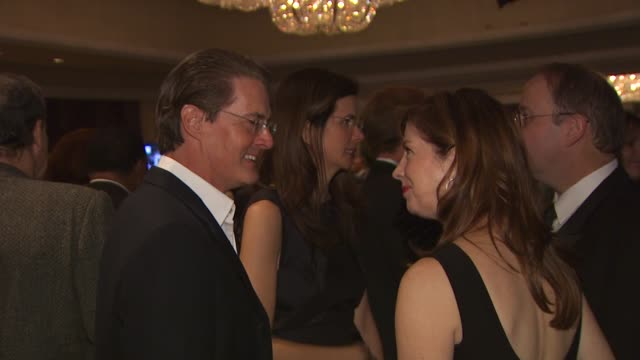 Kyle MacLachlan Dana Delaney at the Monte Carlo Television Festival Cocktail Party at Beverly Hills CA