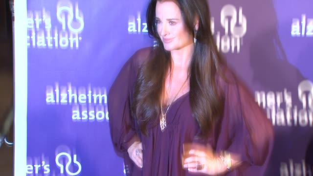 Kyle Richards at the 19th Annual 'A Night At Sardi's' Benefitting The Alzheimer's Association at Beverly Hills CA