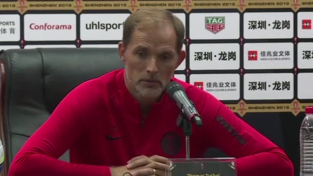 kylian we want him to be on the pitch with us and for that we have to find solutions says psg coach thomas tuchel during a press conference on the... - rennes stock videos & royalty-free footage
