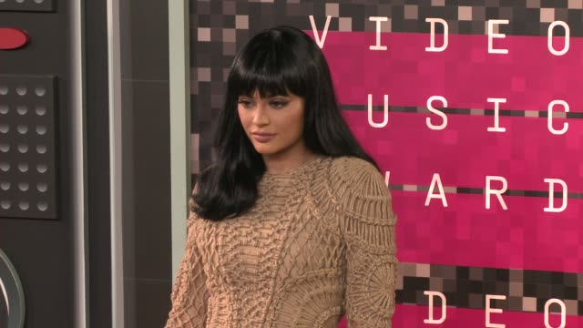 kylie jenner at the 2015 mtv video music awards at microsoft theater on august 30 2015 in los angeles california - 2015 stock videos & royalty-free footage